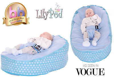 Baby Bean Bag By Lily-Pod B  - Including filling & New Design - RRP -£49.95