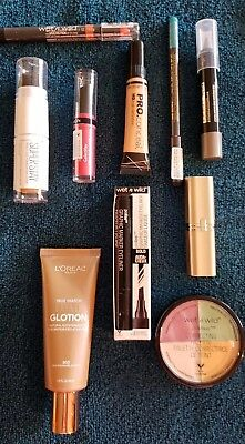 Lot Of Ten (10) Brand New In Pkg Makeup Items, Mascara, Lip Color, Liners - New5