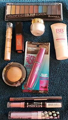 Lot Of Ten (10) Brand New In Pkg Makeup Items, Mascara, Lip Color, Liners - New3