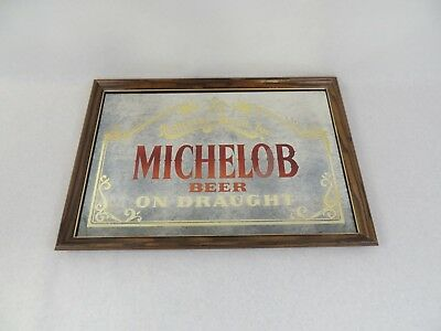 "Anheuser Busch Michelob Beer on Draught Mirror 26""X18"""