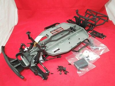 NEW STYLE Traxxas Slash 2WD 2.4ghz Chassis vxl parts lot +tools xl-5 rolling