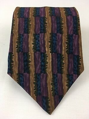 J. Garcia Dawn at the Ritz Carlton Collection 8 Mens Tie 100% Silk Made in USA