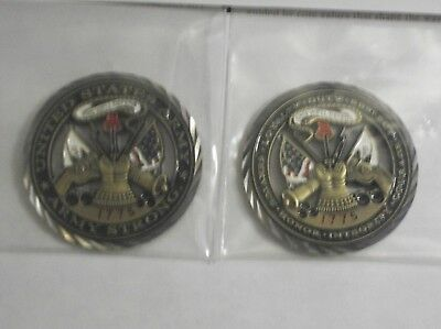 U.s. Army Core Value Challenge Coin