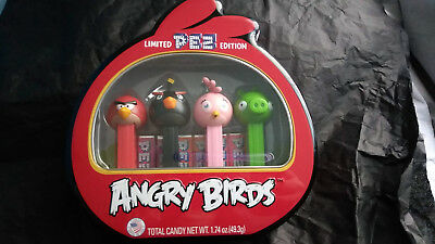 Angry Birds Pez Limited Edition Gift Set 4 Piece Pez Set New Sealed