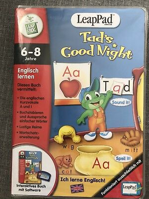 Leappad Toads Good Night Englisch