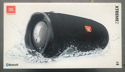 JBL Xtreme 2 Portable Bluetooth Wireless Waterproof Speaker - (Black)