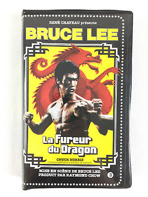 VHS Cassette The Fury Of The Dragon Bruce Lee Edition René Castle