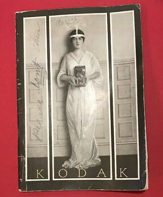 Rare Antique Kodak Camera Complete Catalog - 1915 - stamped from Reading, PA