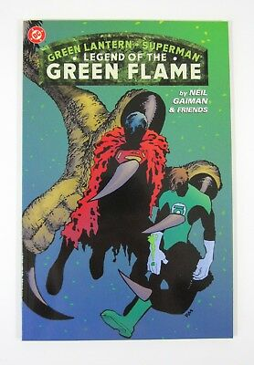 Legend of the Green Flame One-Shot Superman Green Lantern DC 2000 NM