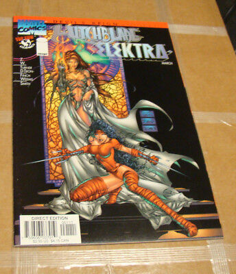 Witchblade Elektra Signed by Michael Turner Top Cow Image Marvel Comics