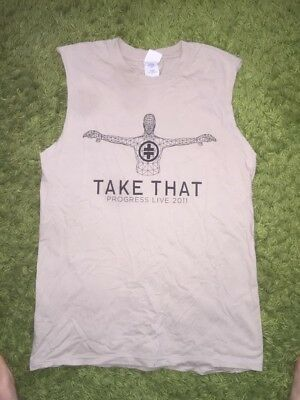 Womens Take That - Progress Tour Vest Size Small