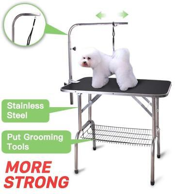 36'' Heavy Duty Portable Professional Dog Show Folding Grooming Table Dog Cat