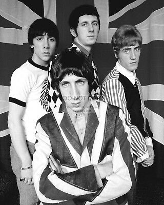 """""""the Who"""" Legendary Rock Band Pete Townshend Roger Daltrey - 8X10 Photo (Rt347)"""