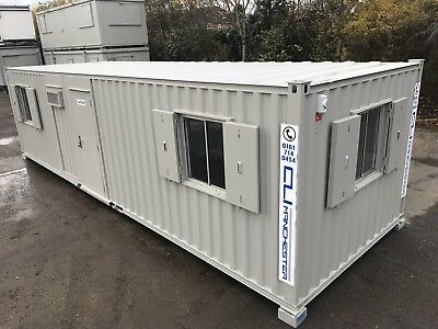 32ft x 10ft - Anti Vandal Canteen | Office | 6 x Windows | Fully Refurbished