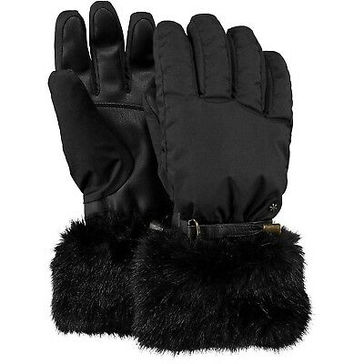 (Medium, Black (Nero)) - Barts Women's Empires Gloves. UK Sports & Ourdoors