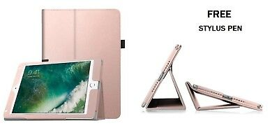 """RoseGold Flip Leather Stand Case Cover For Apple iPad Air2,NEW2017/2018,9.7""""inch"""