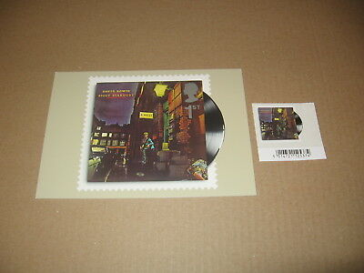 7 Jan 2010 Classic Album Cover Phq 330 - David Bowie Ziggy Stardust Mint Stamp