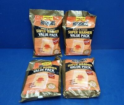 Hothands body and Hand Super Warmer Value Pack 40 Pads (Exp 10/21)