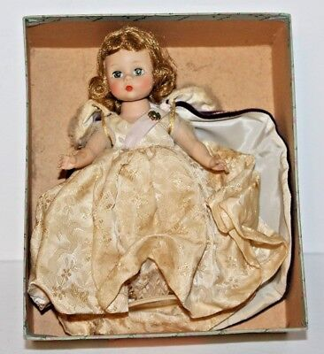 Vintage Madame Alexander - Kins' Alex Doll w/ Purple Cape