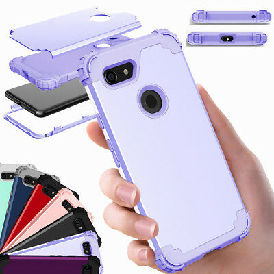 For Google Pixel 3/ 3XL Tough Hybrid Silicone Protective Rugged Phone Case Cover