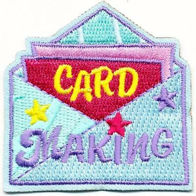 Cub Girl Boy CARD MAKING Fun Patches Crests Badge SCOUT GUIDES crafting donation