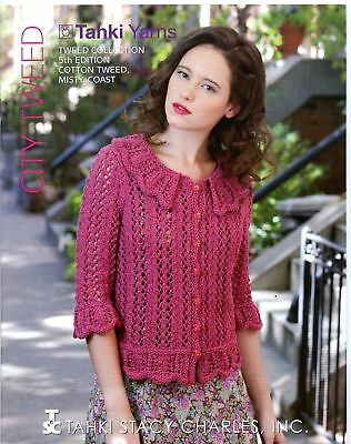 Tahki Stacy Charles Knitting Pattern Book Cotton Classic 4th Ed Garden Variety