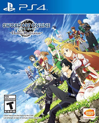 Sword Art Online:hollow Ps4 Game Nuovo