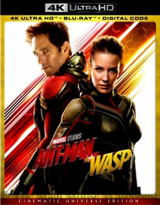 Ant-Man and the Wasp w/Lenticular Slipcover (4K Ultra HD, Blu-ray, Digital)