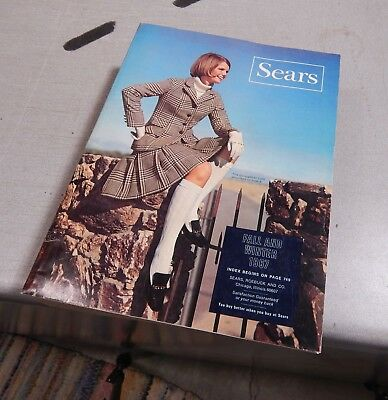 SEARS ROEBUCK Catalog  1967 Fall Winter Chicago Edition Very Good Condition