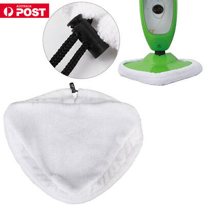 6PCS Washable Floor Steam Cleaning Mop Cleaner Cloth Pads Replace for X5 H20 H2O