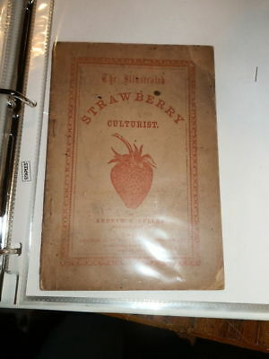 #7211,Strawberry Culturist,1862,Orig Wraps Unique Copy Very Rare