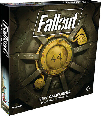 Fallout the Board Game - New California Expansion | Fantasy Flight Games - New G
