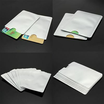 Passport RFID Credit Card Protector Case Blocking Sleeve Shield Holder Secure