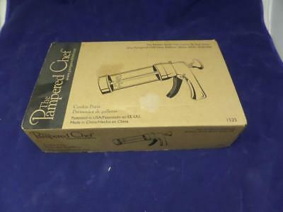 The Pampered Chef Cookie Press #1525 VGC in box! T1