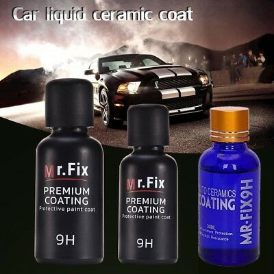 New 9H MR FIX ORIGINAL SUPER CERAMIC CAR COATING Hydrophobic Wax 30ml/50ml