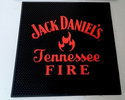 Jack Daniels Tennessee Fire XL Waitstation Mat. Jack Daniel's. Shipping Included