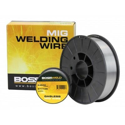 0.8mm 4.5Kg Gasless GS Mig Wire Bossweld 0.8mm 4.5Kg Gasless GS Mig Wire
