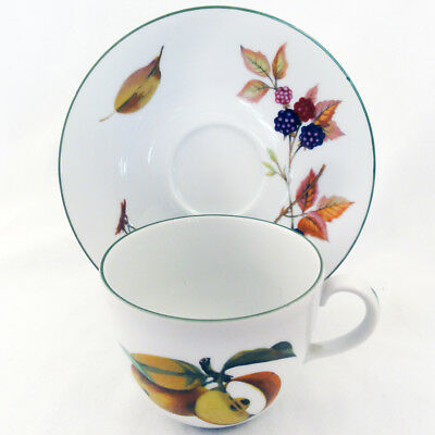 EVESHAM  VALE by Royal Worcester Cup & Saucer NEW NEVER USED made in England