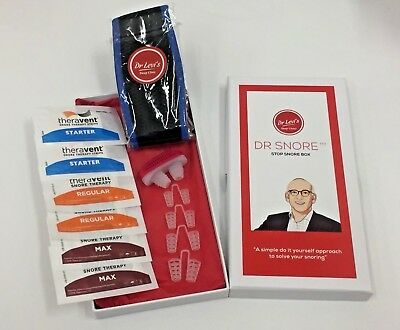 Dr Snore - Stop Snoring Kit - 3x Anti Snore Devices in 1 Kit +Bonus Gift