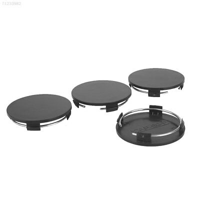 7188 Spare for 60mm-56.8mm Vehicle Wheel Hub Cover Durable Black No Logo