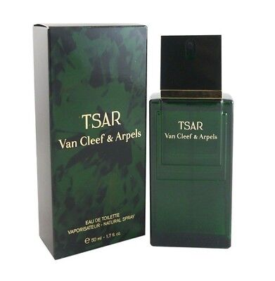 Tsar 50Ml Edt Perfume Spray Mens Van Cleef & Arpels By Van Cleef - Discontinued