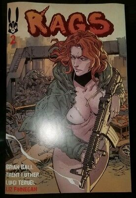 Rags #2 Patreon Edition Uncensored Self Published HTF Normie Cover