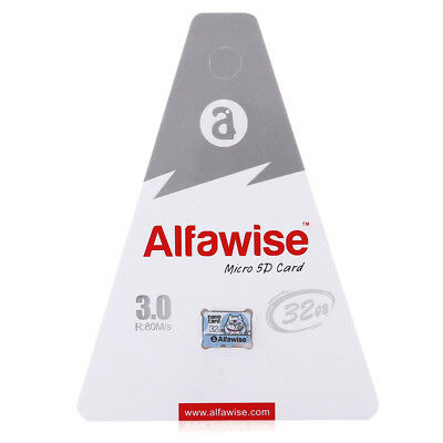 Alfawise 32GB 64GB High Reading Writing Speed 80MB/S Micro SD Memory Card Hot