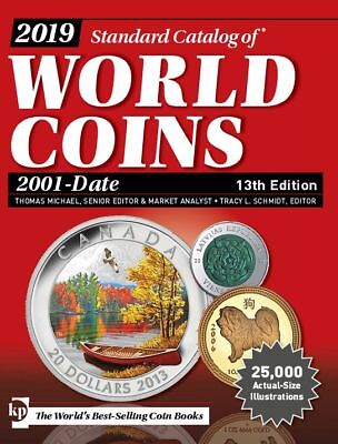 Digital Book 2019 Standard Catalog of World Coins 2001 to Date 13th Ed - KRAUSE