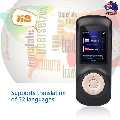 Smart Offline Translator Recording Supports 52 Languages For Travel Abroad Learn