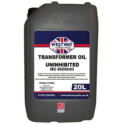 20L Transformer Oil - Insulating Dielectric Oil Mineral for Diala B