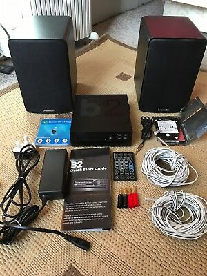 Brennan B2 network music player with Bluetooth and cd ripper.