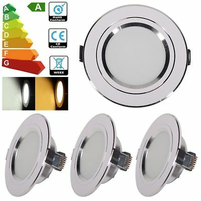 10 / 2PCS LED Recessed Ceiling Downlights 9W Panel  Spotlight 960lm Light Lamps