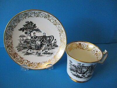 Royal Chelsea Cup & Saucer Artist Singed
