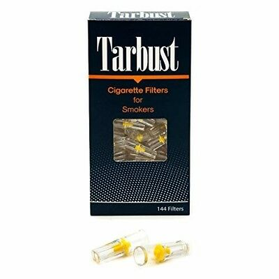 Disposable Cigarette Filters Cut The Nic 1 Pack of 144 Filters with Efficient